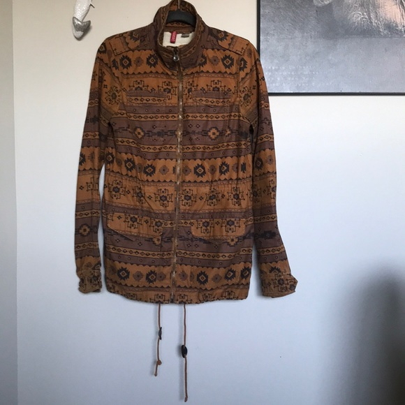 H & M Aztec utility Jacket
